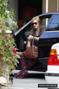 Demi Lovato-Arriving at a business meeting in Beverly Hills, CA October 7th 2010