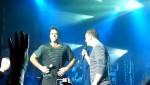 Robbie et Gary  au concert à Paris au Alhambra 10/10/2010 1445dd101963081
