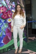Raven Symone at Tinkerbell being honored with a star on the Walk of Fame 09/21/2010