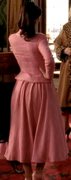 Virginie Ledoyen from behind in long skirt ... from 2002's 8 WOMEN (1 non-HD cap)