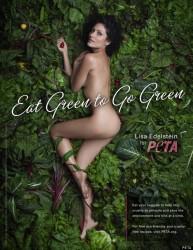 Lisa Edelstein sexy PETA Ad
