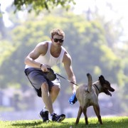 Kellan Lutz walking his dogs July 23rd B2fe0f89844757