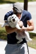 More pics of kellan Lutz walking a dog 1296d591599720